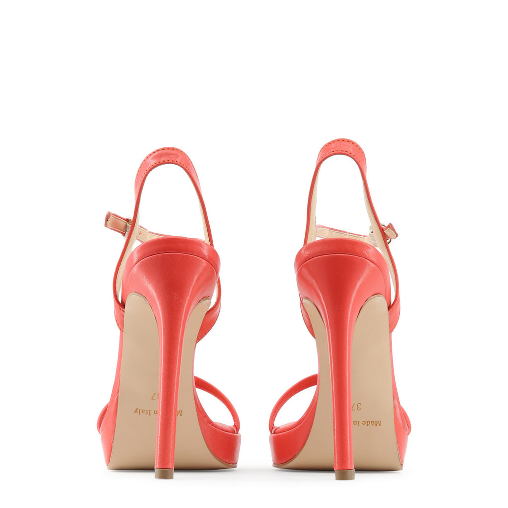 MARCELLA_CORALLO-Red-39-Made in Italia - MANUELA Sandal-Home > Shoes > Sandals-Made in Italia-red-39-Faeshon.com