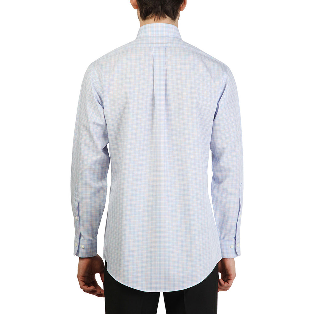 100040371_AZZURRO-Blue-16H-Brooks Brothers Shirt-Home > Men's > Clothing > Shirts-Brooks Brothers-blue-16H-Faeshon.com