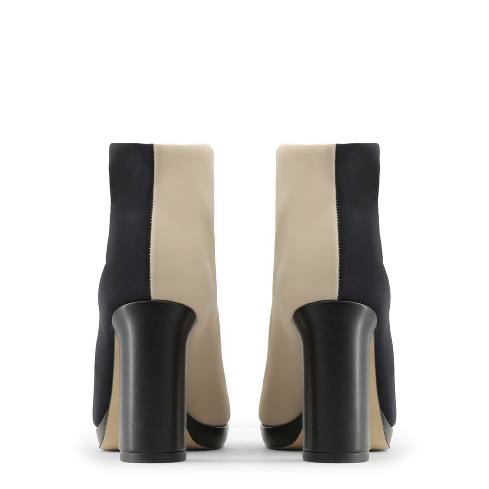 ZAMA_NERO_BEIGE-Black-36-Made in Italia - ZAMA Ankle boot-Home > Shoes > Ankle boots-Made in Italia-black-36-Faeshon.com
