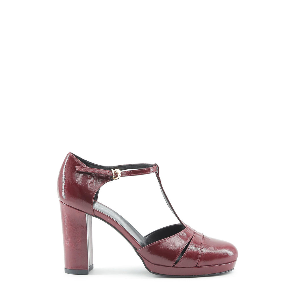 CLOE_BORDO-Red-40-Made in Italia - CLOE Heels-Home > Shoes > Pumps & Heels-Made in Italia-red-40-Faeshon.com