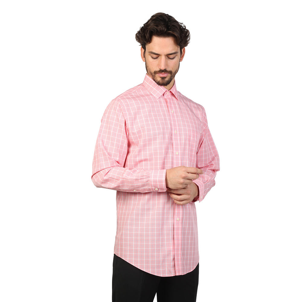 100040445_ROSA-Pink-16H-Brooks Brothers Shirt-Home > Men's > Clothing > Shirts-Brooks Brothers-pink-16H-Faeshon.com