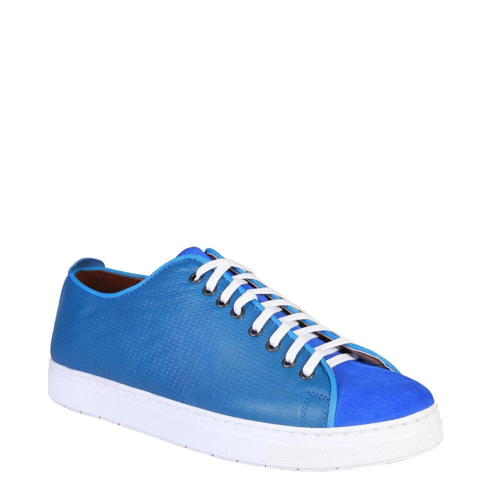 EDGARD_PETROLE-Blue-EU 40-Pierre Cardin - EDGARD Men Sneakers-Home > Shoes > Sneakers-Pierre Cardin-blue-EU 40-Faeshon.com