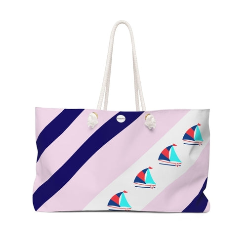 89929749-STYLEFOX® Come Sail Away Weekender Bag-Home > Bags > Shoulder bags-Magenta Max-OSFA-Faeshon.com