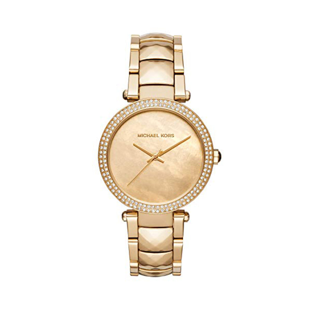 MK6425-Yellow-NOSIZE-Michael Kors - MK642-Accessories Watches-Michael Kors-yellow-NOSIZE-Faeshon.com