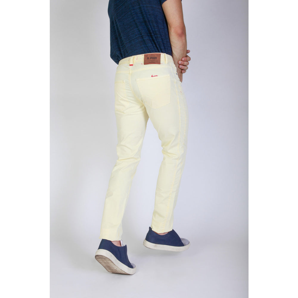 J1883T812-Q1_331_SUN-Yellow-29-Jaggy Men Trouser-Home > Women's > Clothing > Trousers-Jaggy-yellow-29-Faeshon.com