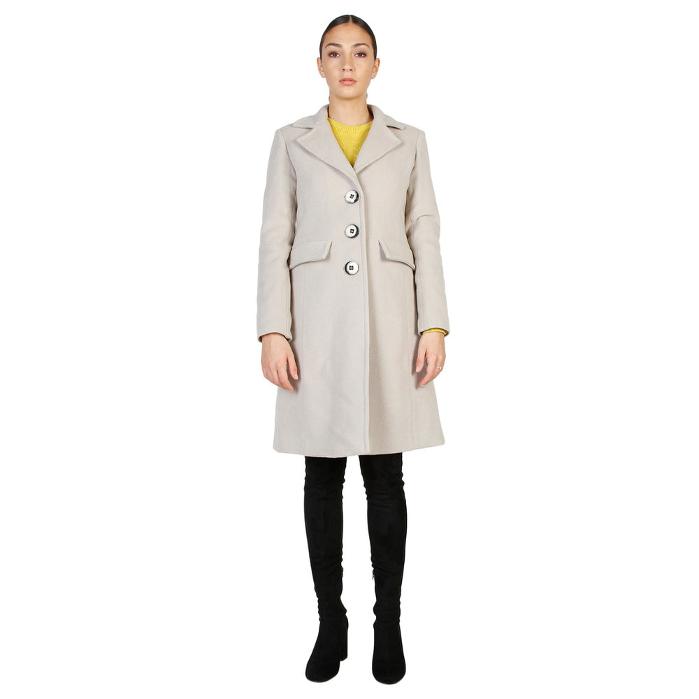 AZZURRA_BEIGES14-Brown-40-Fontana 2.0 - AZZURRA Coats-Home > Women's > Clothing > Coats-Fontana 2.0-brown-40-Faeshon.com
