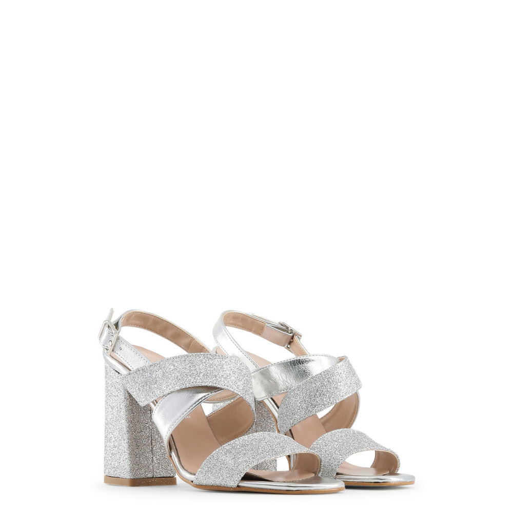 VERA_ARGENTO_GLITTER-Grey-36-Made in Italia - VERA_GLITTER Sandal-Home > Shoes > Sandals-Made in Italia-grey-36-Faeshon.com