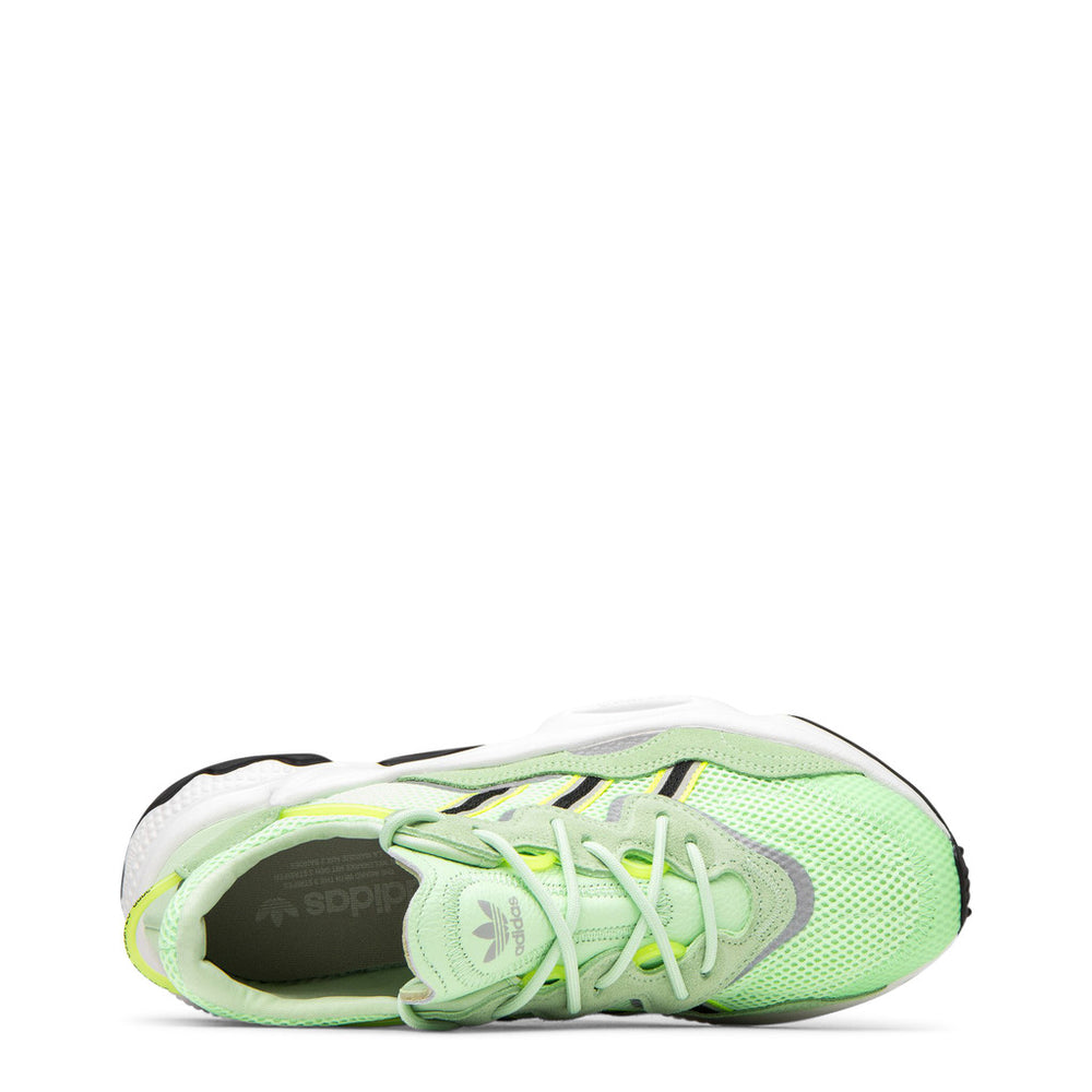 EE6466_Ozweego-Green-UK 6.0-Adidas - Ozweego-Shoes Sneakers-Adidas-green-UK 6.0-Faeshon.com