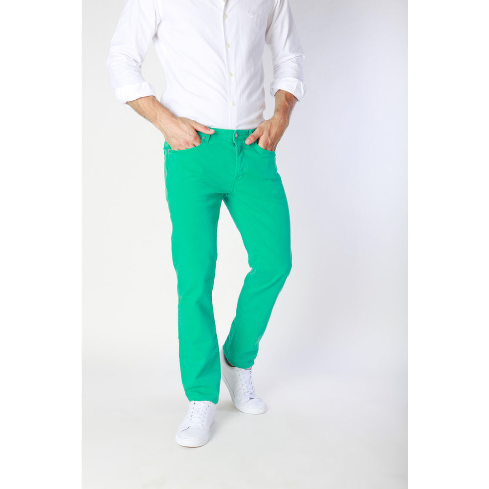 J1551T814-1M_620_GREEN-TEA-Green-33-Jaggy Men Jeans-Home > Men's > Clothing > Jeans-Jaggy-green-33-Faeshon.com