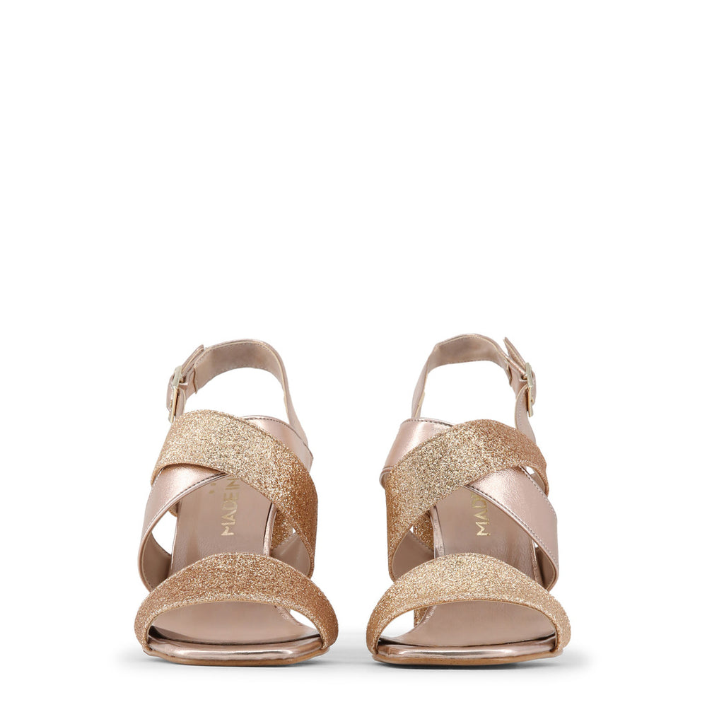 VERA_CIPRIA_GLITTER-Brown-38-Made in Italia - VERA_GLITTER Sandal-Home > Shoes > Sandals-Made in Italia-brown-38-Faeshon.com