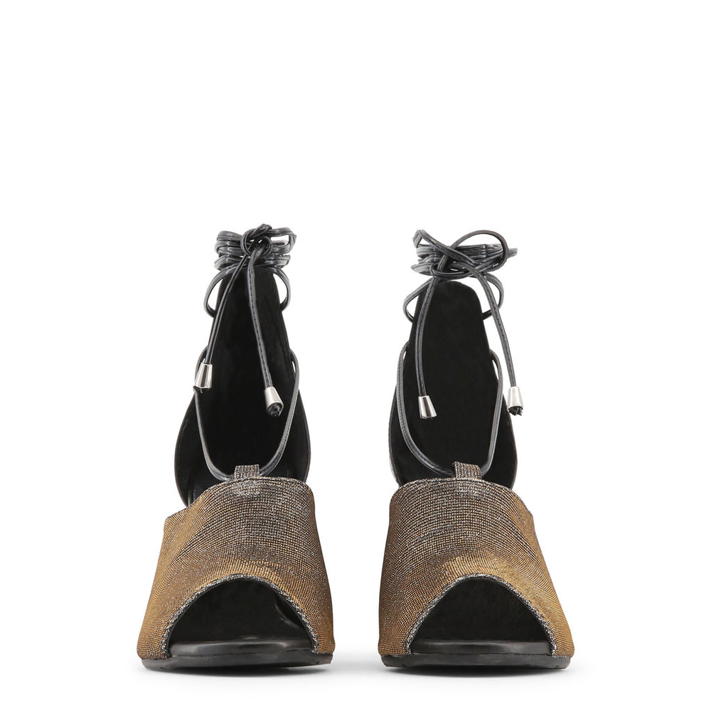 AMALIA_NERO_BRONZO_ARGENTO-Black-36-Made in Italia - AMALIA Sandal-Home > Shoes > Sandals-Made in Italia-black-36-Faeshon.com