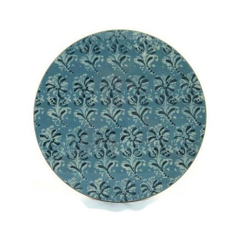 The 'Blue Block Print Collection' Tablemat Set x 6