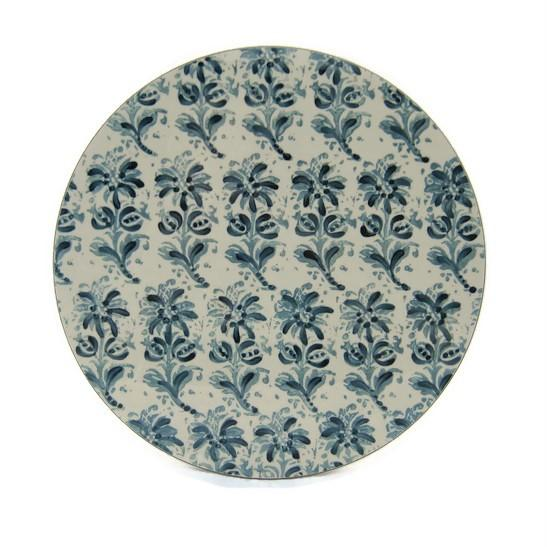 The 'White Block Print Collection' Tablemat Set x 6