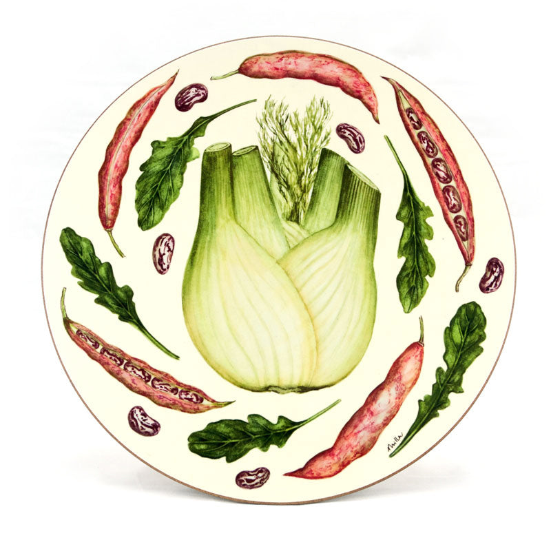 Large 'Fennel' Serving Mat