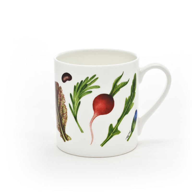 Large 'Radishes & Rocket' Mug