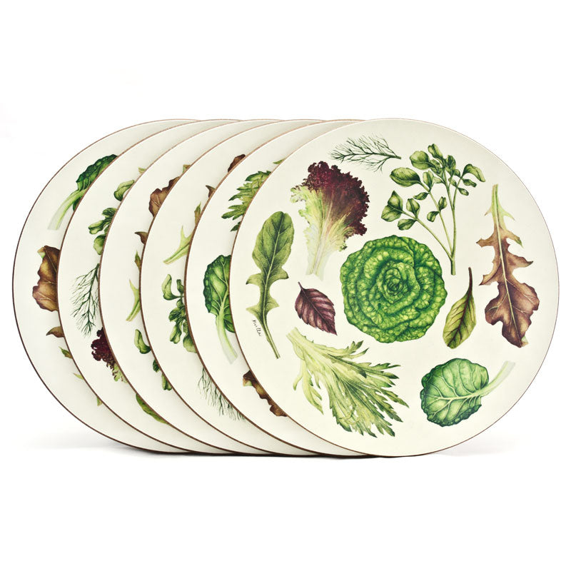 The 'Lettuce Leaves Collection' Tablemat Set