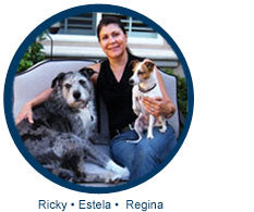 Can't Wag Without: Estela and Reggie + Ricky