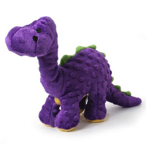 Dinosaur Dog Toy with Chew Guard