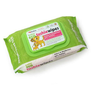 Eco Tushie Pet Wipes, 80 Count