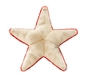 Plush Ziggy Starfish Tough Dog Toy