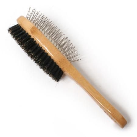 BASS Double Sided Dog Brush