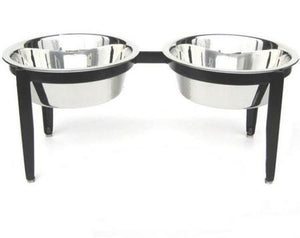 Vision Double Dog Feeder