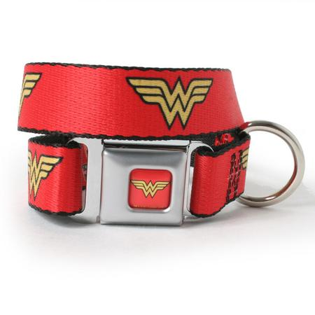 Wonder Woman Dog Collar