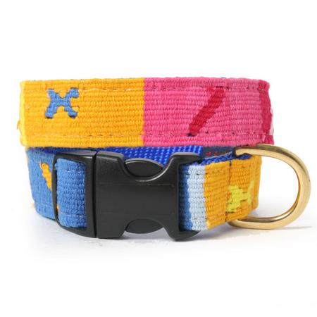 Starry Day Woven Dog Collar