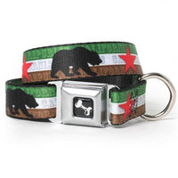 California Flag Dog Collar - Muttropolis