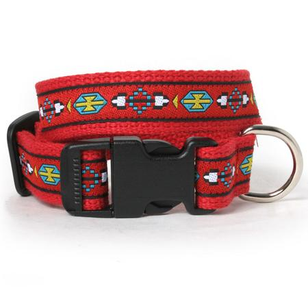 Red Southwest Dog Collar