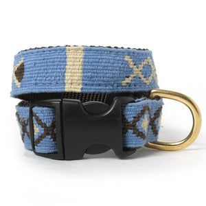 Block Island Woven Dog Collar
