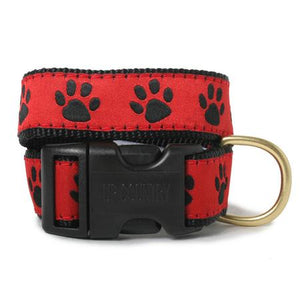 Paw Print Dog Collar