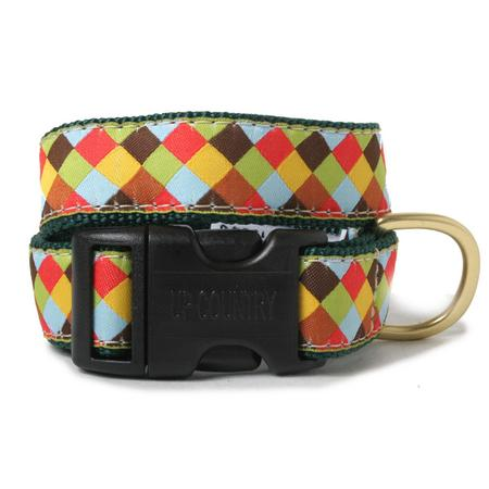 Multi Check Dog Collar
