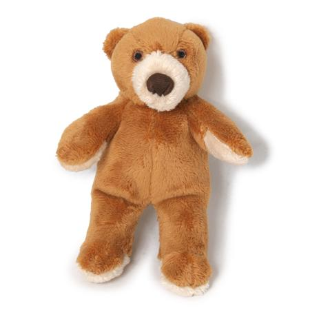 Plush Cubby Bear Dog Toy