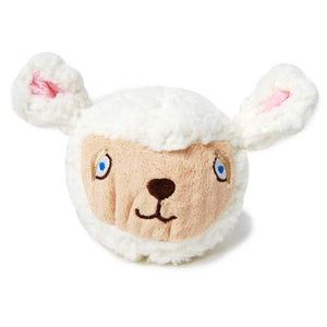 Plush Sheep Ball Dog Toy