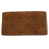 Pecan Filigree Microvelvet Dog Placemat