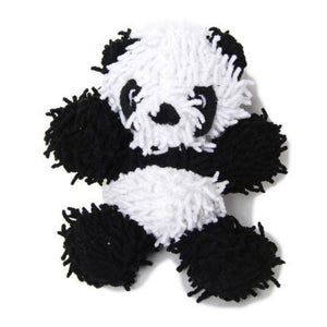 Microfiber Extra Tough Junior Panda Dog Toy