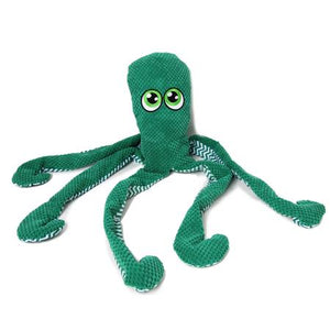 Jumbo Plush Octopus Dog Toy
