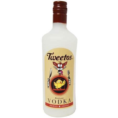 Tweetos Vodka Dog Toy