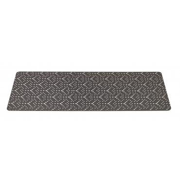 Cosmic Grey Print Dog Placemat