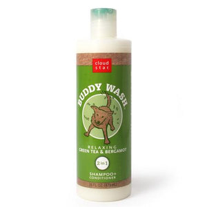 Buddy Wash Green Tea and Bergamot Dog Shampoo and Conditioner