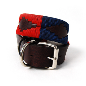 Patriot Leather Dog Collar