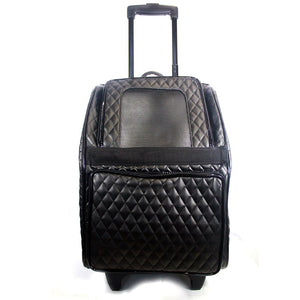 Quilted Rio Wheeled Dog Carrier