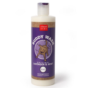 Buddy Wash Lavender and Mint Dog Shampoo and Conditioner