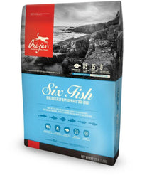 Orijen USA Made Six Fish Dog Food - Muttropolis