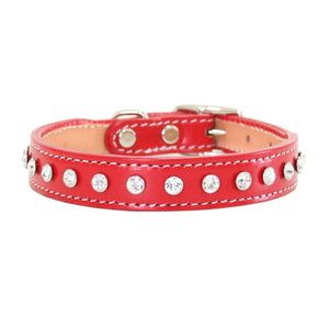 Madison Swarovski Crystal Dog Collar