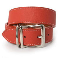 Soft Tuscan Italian Leather Dog Collar | Brights