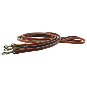 Plain Leather Dog Leash