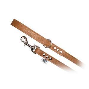 Premium Pebbled Leather Buddy Belt Dog Leash