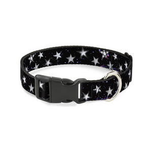 Glowing Stars Dog Collar